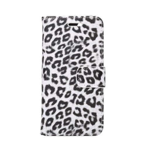 iPhone 7 / 8 Wallet Book – Luipaardprint – Beige