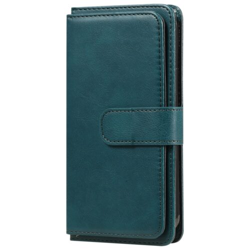 Multifunctionele iPhone 12 Pro / iPhone 12 Wallet case – groen