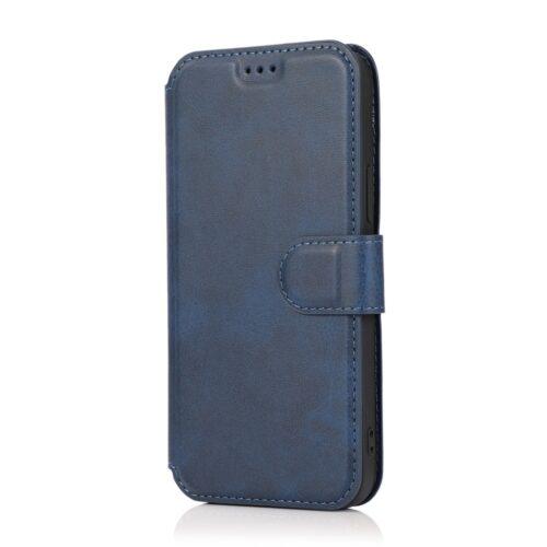 retro-wallet-case-iphone12pro-blauw
