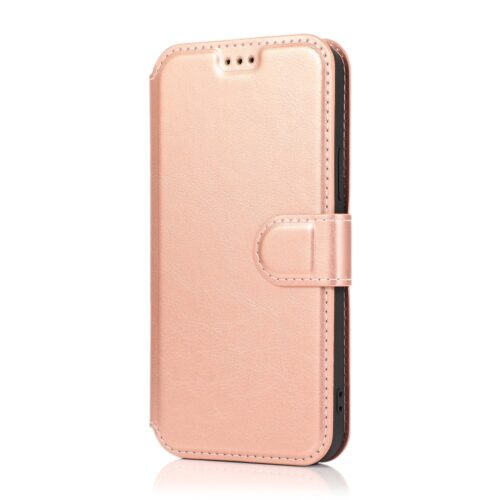 retro-wallet-case-iphone12pro-rosegoud