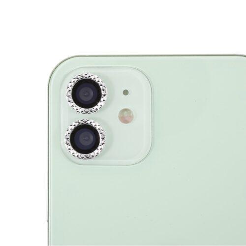 Bescherming voor cameralens met kristalletjes – iPhone 11 – iPhone 12 – iPhone 12 Mini